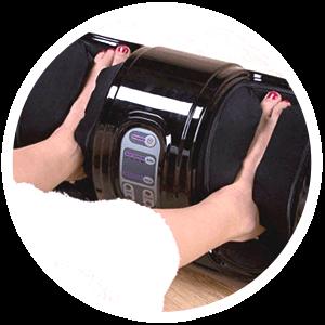 Польза массажеров для ног