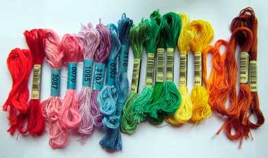 Как правильно выбрать нитки для вышивки