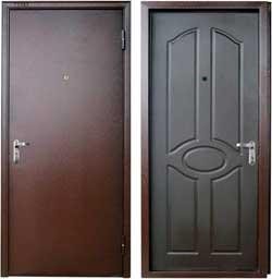 Какие бывают металлические двери
