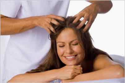 Болит голова, массаж