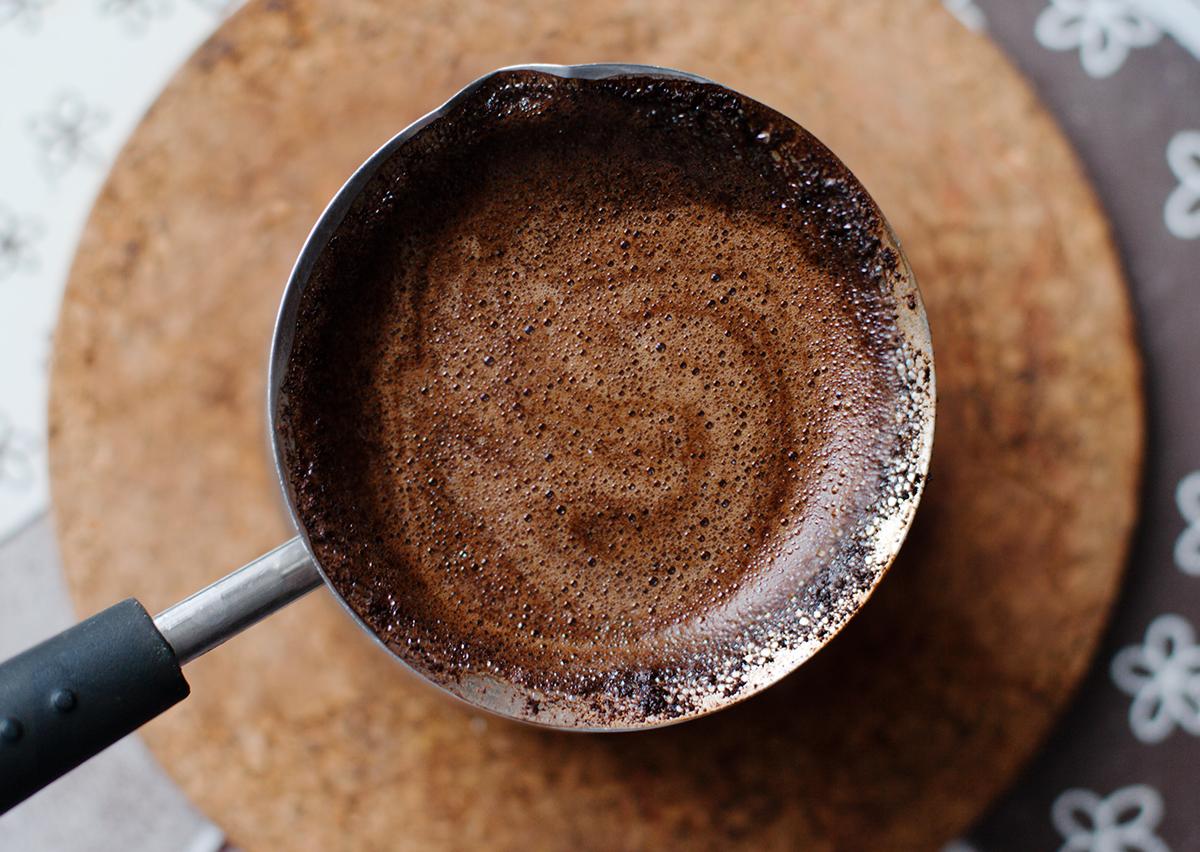 Как варить кофе в кастрюле на плите рецепт пошагово