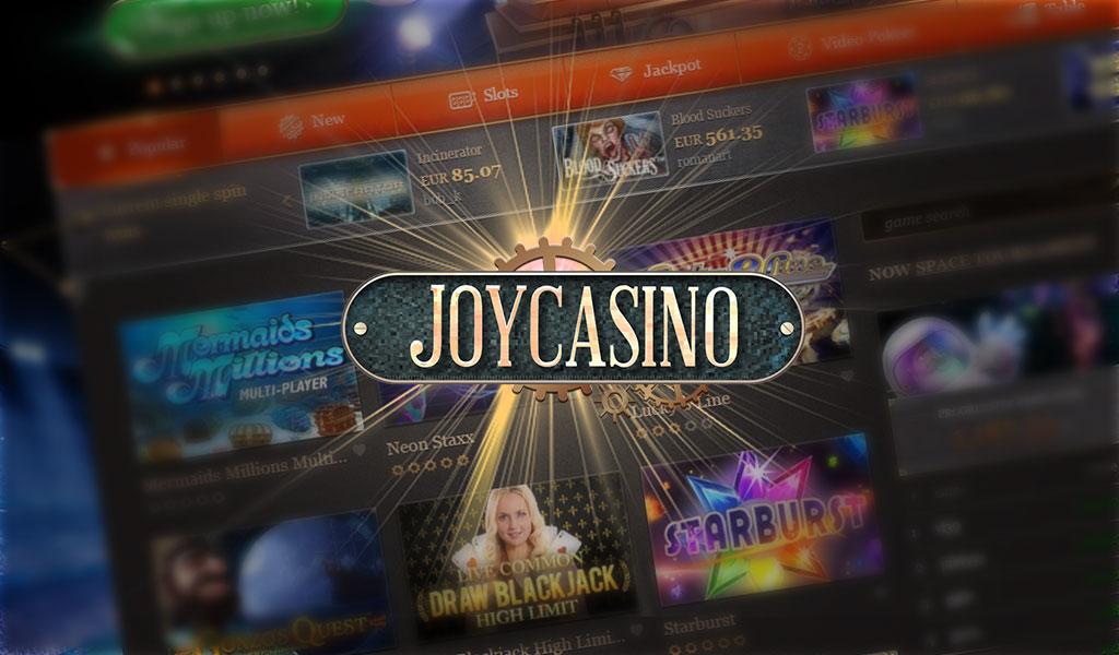 Бонусы и промо в казино Джойказино